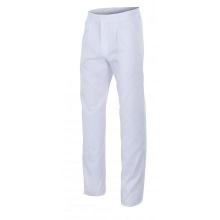 Pantalon con pinzas 317-7 blanco VELILLA