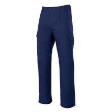 Pantalon multibolsillos forrado 103006-1 azul marino VELILLA