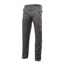 Pantalon multibolsillos forrado stretch 103015S-8 gris VELILLA
