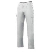 Pantalon multibolsillos acolchado 398-7 blanco VELILLA