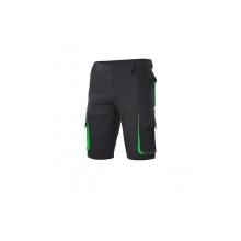 Bermuda bicolor multibolsillos 103007 0-25 negro/verde VELILLA