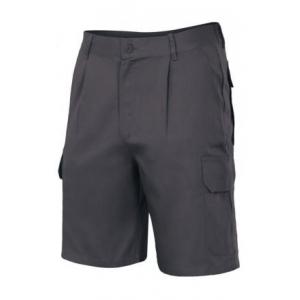 Pantalon multibolsillos 344-0 negro VELILLA