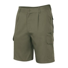 Pantalon multibolsillos 344-3 verde caza VELILLA