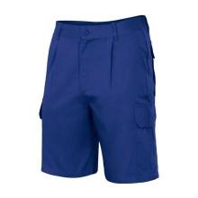 Pantalon multibolsillos 344-9 azulina VELILLA