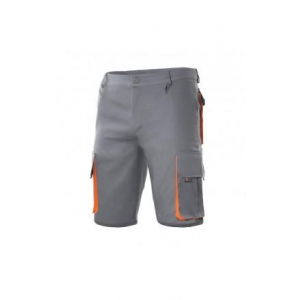 c81177a54b6 Bermuda bicolor multibolsillos 103007 8-16 gris/naranja VELILLA ...