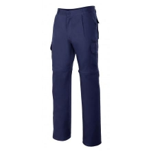 Pantalon multibolsillos desmontable 346-1 azul marino VELILLA