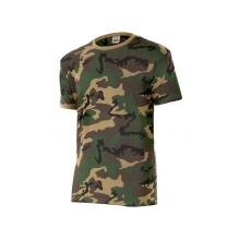 Camiseta camuflaje 506-33 verde camuflaje VELILLA