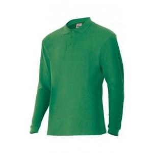 Polo manga larga 105503-2 verde VELILLA