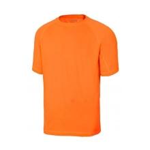 Camiseta tecnica manga corta 105506-19 naranja fluor VELILLA