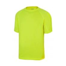 Camiseta tecnica manga corta 105506-20 amarillo fluor VELILLA