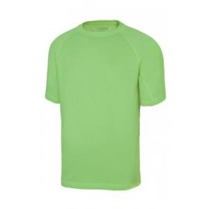 Camiseta tecnica manga corta 105506-25 verde lima VELILLA