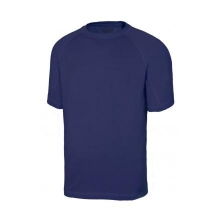 Camiseta tecnica manga corta 105506-61 azul navy VELILLA