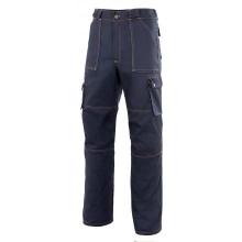Pantalón multibolsillos refuerzo de tejido ZINC-1 azul mari VELILLA