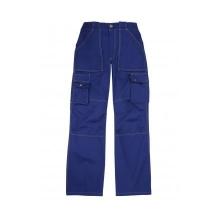 Pantalón multibolsillos refuerzo de tejido ZINC-9 azulina VELILLA