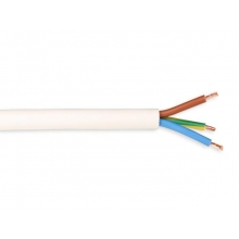 Manguera pvc electrica blanca 2x1  (5 metros)