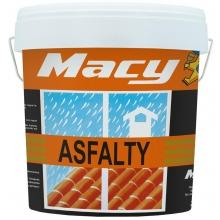 Pintura impermeabilizante Asfalty fibra rojo 4 litros MACY