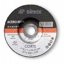 Disco corte hierro/inox SA-EHT125x1.0 A-P (10 unidades) SINEX
