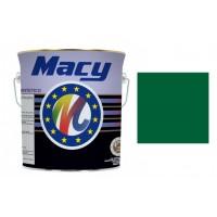 Pintura esmalte verde hierba 4l MACY