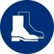 Señal adhesiva obligacion uso botas vinilo 90mm NORMALUZ