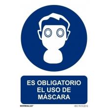Señal obligacion uso mascara pvc 210x300 NORMALUZ