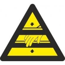 Señal adhesiva atencion a las manos vinilo 90mm (10 unidades) NORMALUZ