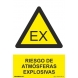 Señal riesgo atmosferas explosivas  pvc 210x300 NORMALUZ