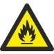 Señal adhesiva peligro incendio vinilo 90mm RD38600 NORMALUZ