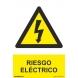 Señal riesgo electrico aluminio 210x300x0,5mm NORMALUZ
