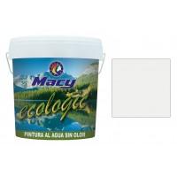 Pintura mate ecológica blanca 15 l MACY