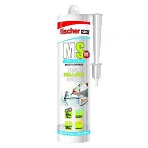 Sellador adhesivo MS Profesional transparente cartucho 300ml FISCHER