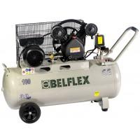 Compresor Correas 3HP 100L (motor*v*h/f) BF3/100VFS 220V BELFLEX