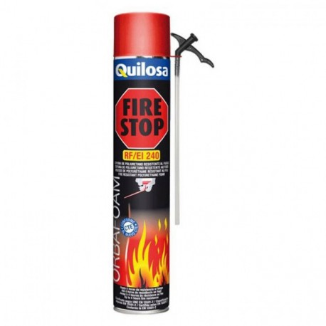 Espuma poliuretano manual fire-stop 700ml QUILOSA
