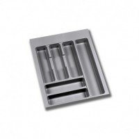 Cubertero Optima Emuca para cajón M45 de medidas 386x482 mm