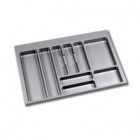 Cubertero Optima Emuca para cajón M80 de medidas 736x482 mm