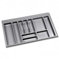 Cubertero Optima Emuca para cajón M90 de medidas 836x482 mm