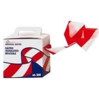Cinta balizamiento roja/blanca 200mx70mm galga170 STARTER