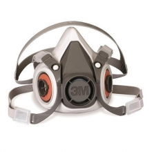 Mascara buconasal 6100 pequeña reutilizable sin filtros 3M