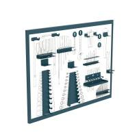 Panel madera serigrafiado para herramientas 1070x25x800mm HECO