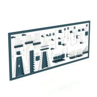 Panel madera serigrafiado para herramientas 2070x25x800 HECO