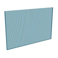 Panel perforado 1000x500x13mm 141 0 HECO