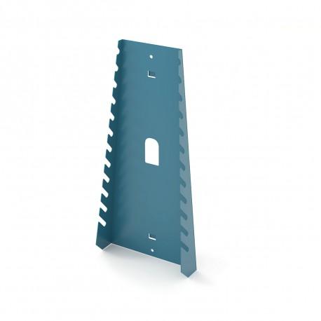 Soporte para 12 llaves fijas blister para panel metalico HECO