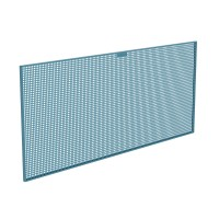 Panel herramientas perforado metálico 1800x25x800mm HECO