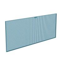 Panel herramientas perforado metálico 2000x25x800mm HECO