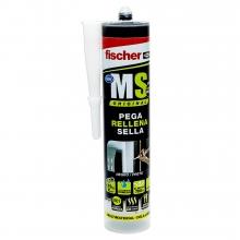 Sellador adhesivo MS Profesional gris 300ml FISCHER