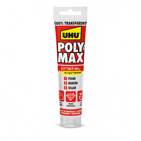 Sellador polimero ms poly max cristal expres 115grs IMEDIO-UHU