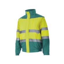 Cazadora alta visibilidad acolchada 161-20-2 amarillo/verde VELILLA