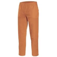 Pantalon pijama cintas 533001-22 naranja claro VELILLA