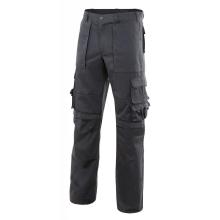 Pantalon multibolsillos con refuerzo de tejido negro VELILLA