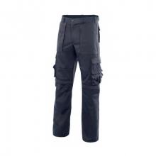Pantalon multibolsillos con refuerzo de tejido azul navy VELILLA