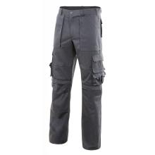 Pantalon multibolsillos con refuerzo de tejido gris VELILLA